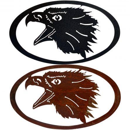 Eagle Head Oval